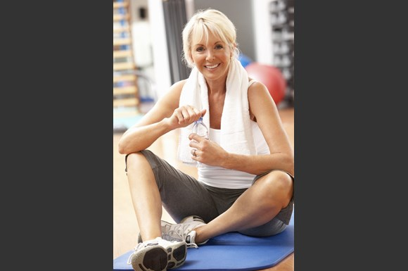 Fully Equipped Fitness Center at Ridgeview Highlands Apartments & Townhomes, Wisconsin, 54911