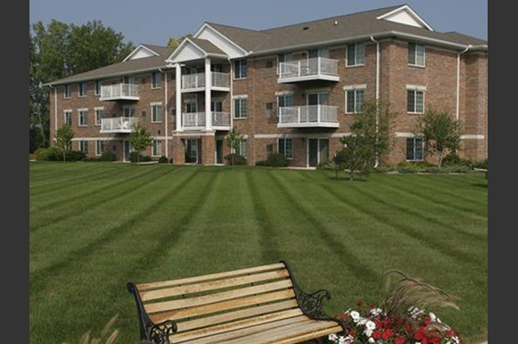 Beautiful Landscaping and Park-like Setting at Parkway Highlands Apartments & Townhomes 55+,WI 54302