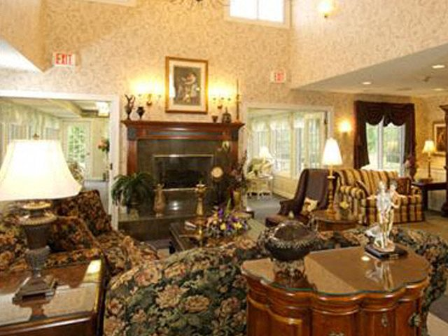 Luxurious Living Rooms With Fireplace at Parkway Highlands Apartments & Townhomes 55+,WI 54302