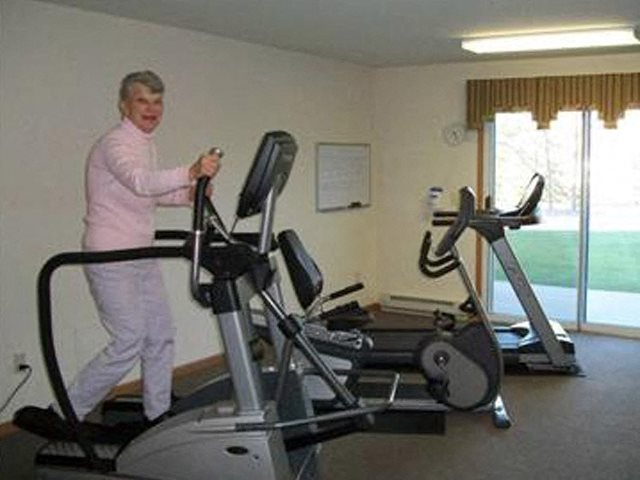 Fully Equipped Fitness Center at Parkway Highlands Apartments & Townhomes 55+,251 Highland Park Avenue, Green Bay