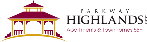 at Parkway Highlands Apartments & Townhomes 55+ Logo, Green Bay