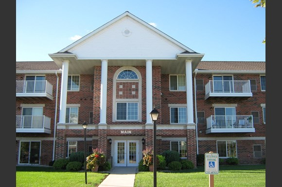 Beautiful Brick Construction at The Highlands at Mahler Park Apartments 55+, Neenah, WI,54956