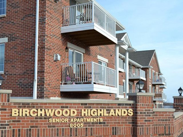 Private patios or Balcony at Birchwood Highlands Apartments, 8005 Birch Street, Weston