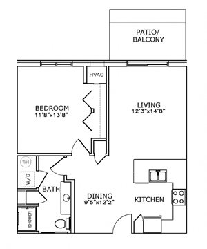 A2 - One Bedroom, One Bath*