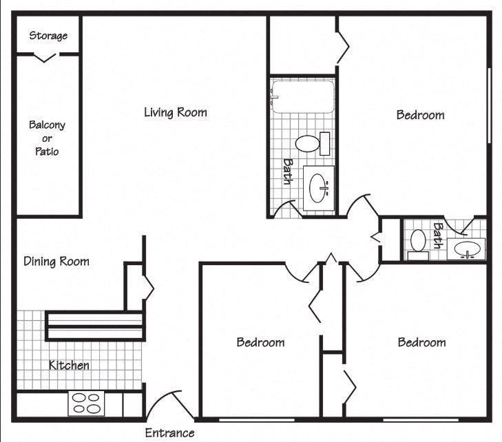 Richland, WA Maple Ridge 3 bedroom  bath