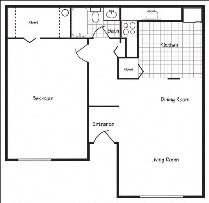 Richland, WA Maple Ridge 1 bedroom 1 bath