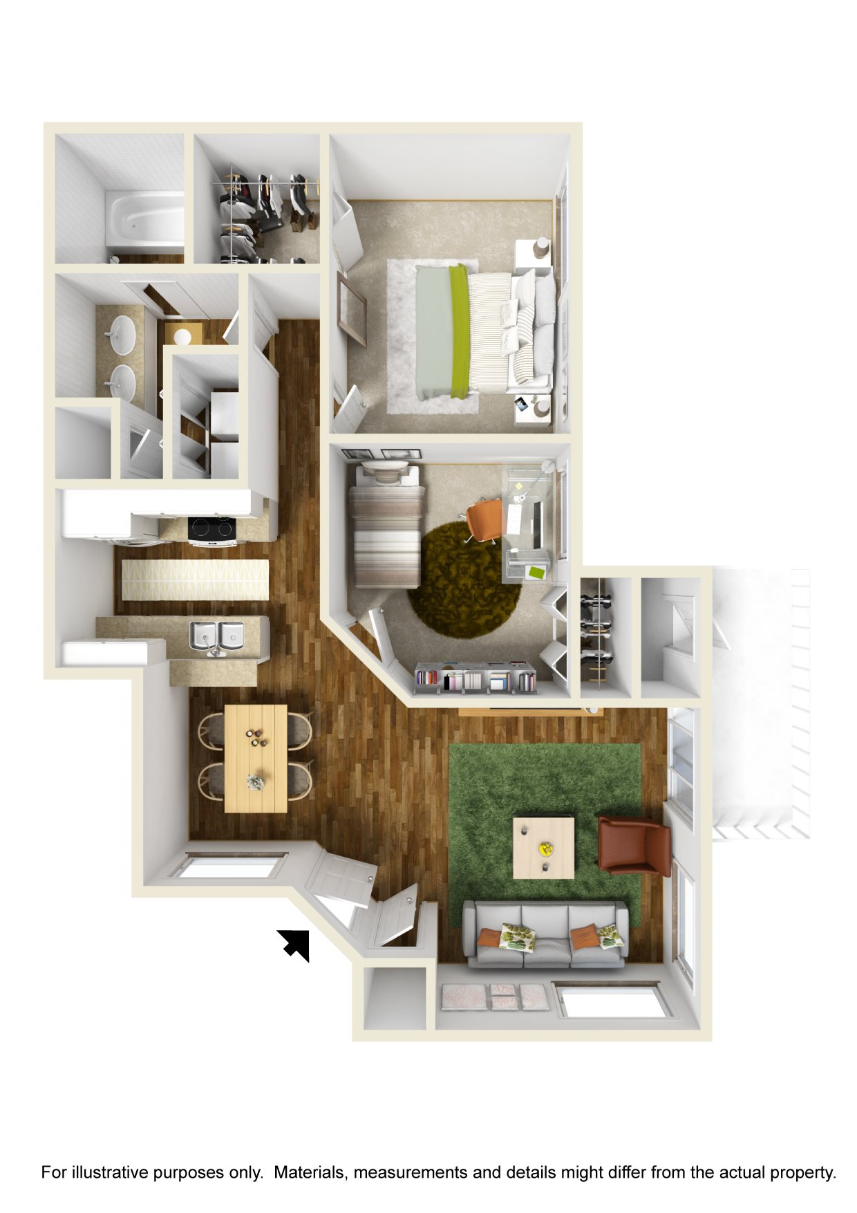The Savannahs at James Landing Melbourne FL 32935 Pinta Floor Plan