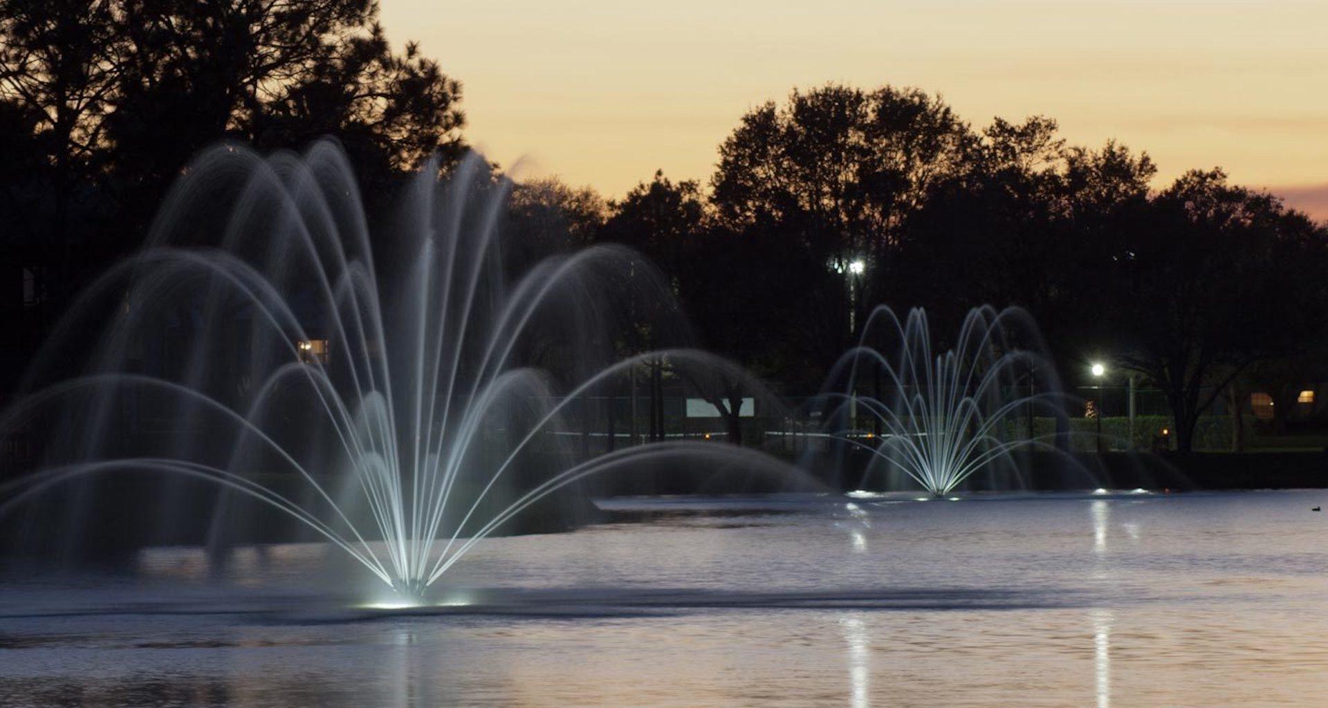 The Savannahs at James Landing Melbourne FL 32935 fountains