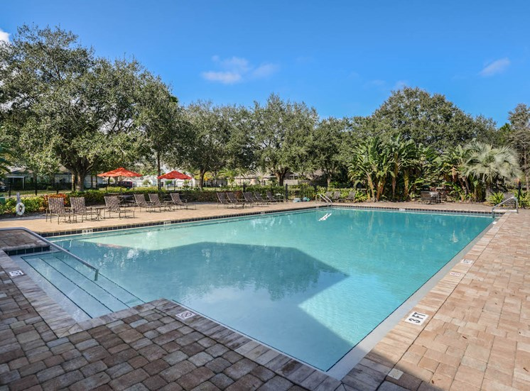 large sundeck at The Savannahs at James Landing Melbourne FL 32935