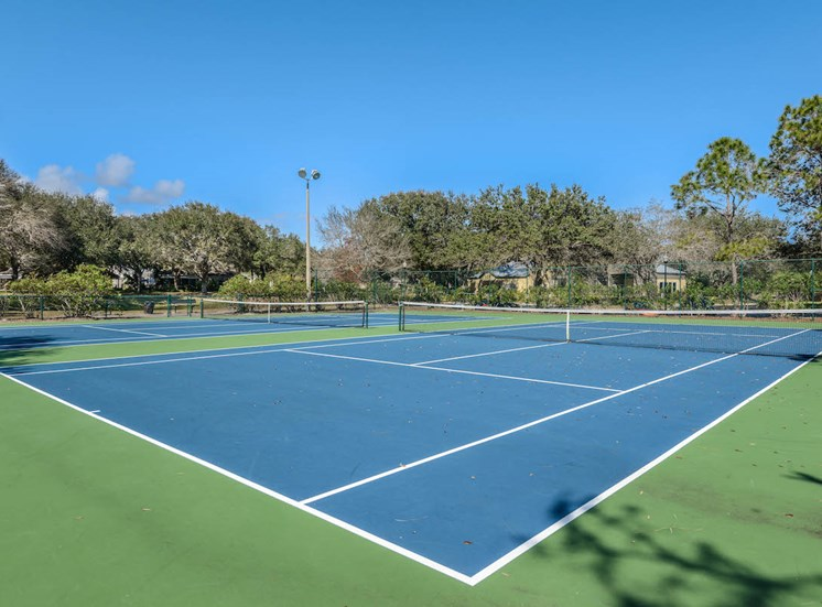 The Savannahs at James Landing Melbourne FL 32935 USTA illuminated tennis courts
