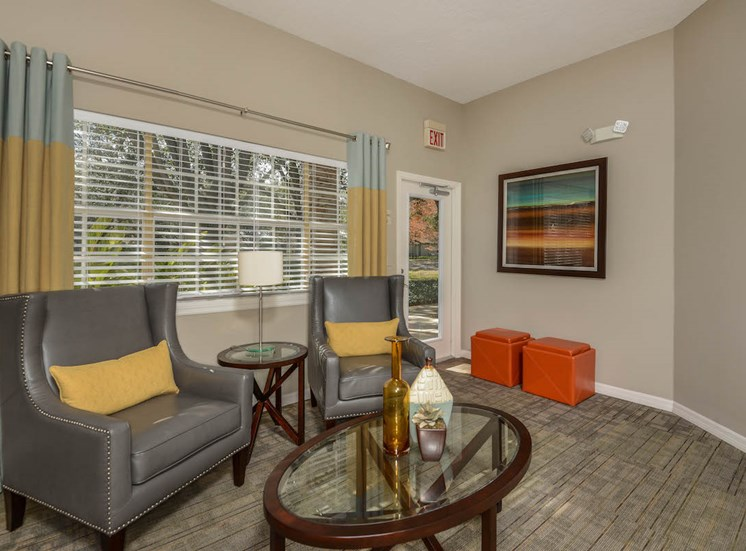 The Savannahs at James Landing Melbourne FL 32935 spacious technology lounge