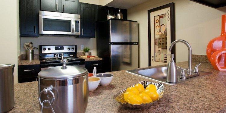 Deluxe kitchen at The Savannahs at James Landing, Melbourne, FL