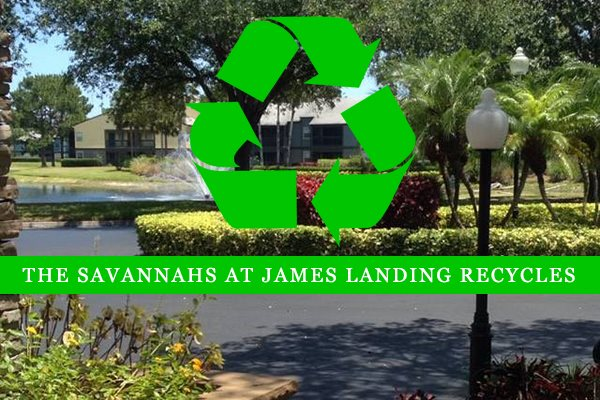 The Savannahs at James Landing Melbourne FL 32935 offers recycling services