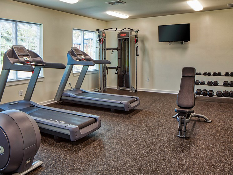 Buckroe Pointe Townhomes in Hampton VA gym
