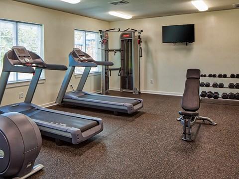 Buckroe Pointe Townhomes in Hampton VA gym