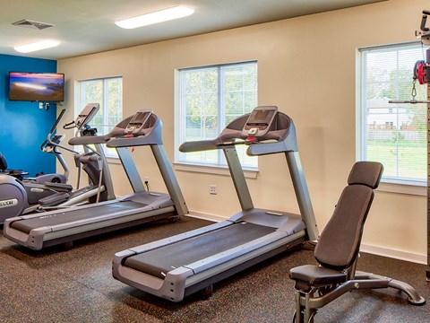 Buckroe Pointe Townhomes in Hampton VA gym 2