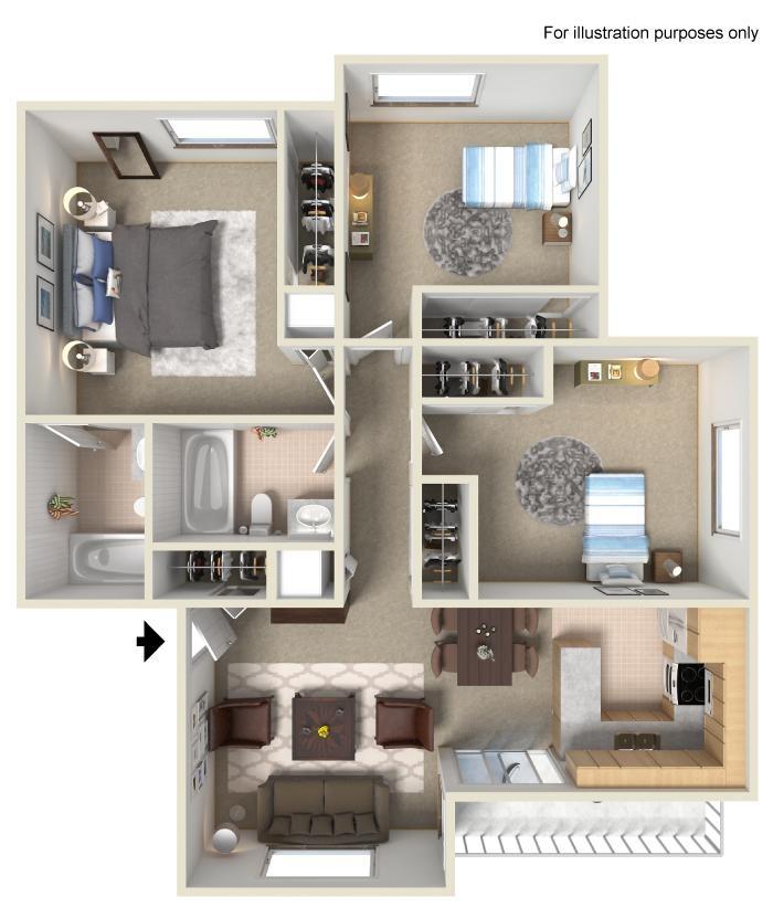 Plan D Floor Plan 4