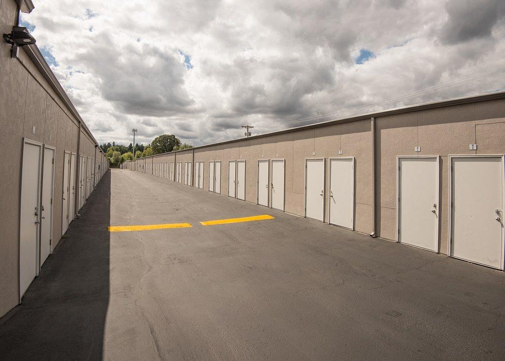 Burnham Storage Exterior Storage Entrances