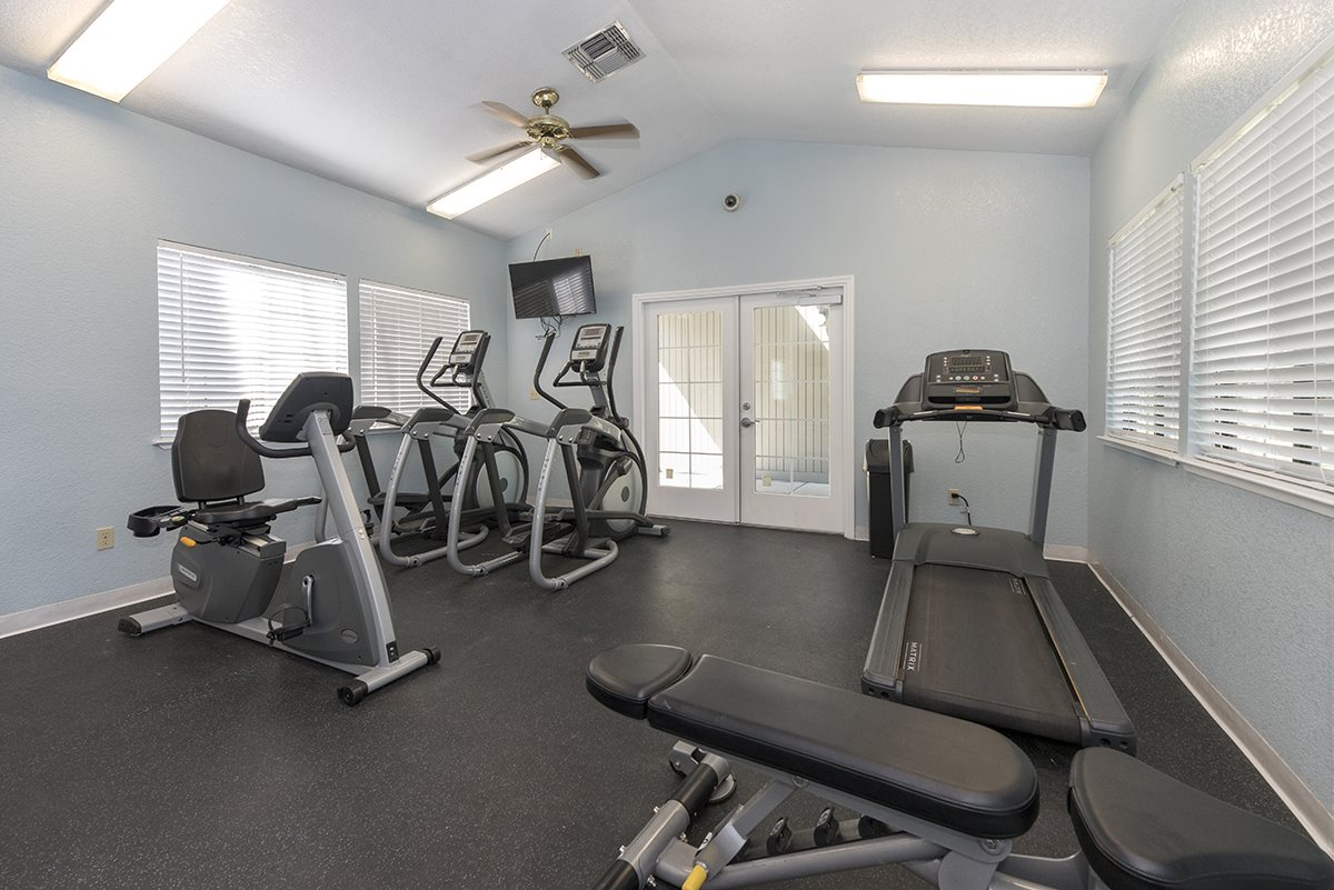 Pepperwood Apartments Cardio Equipment in Fitness Center