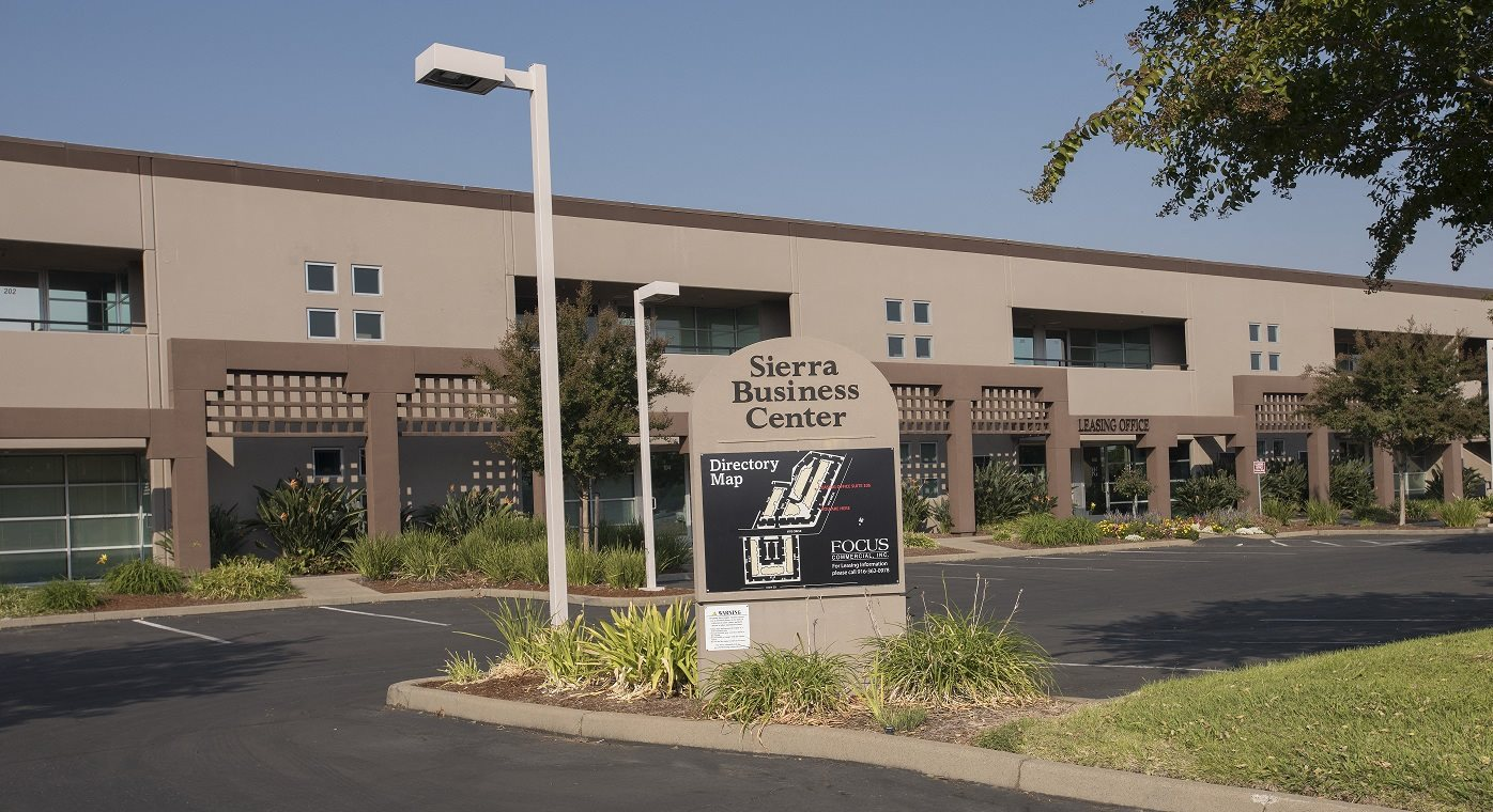 Sierra Business Center Directional Sign