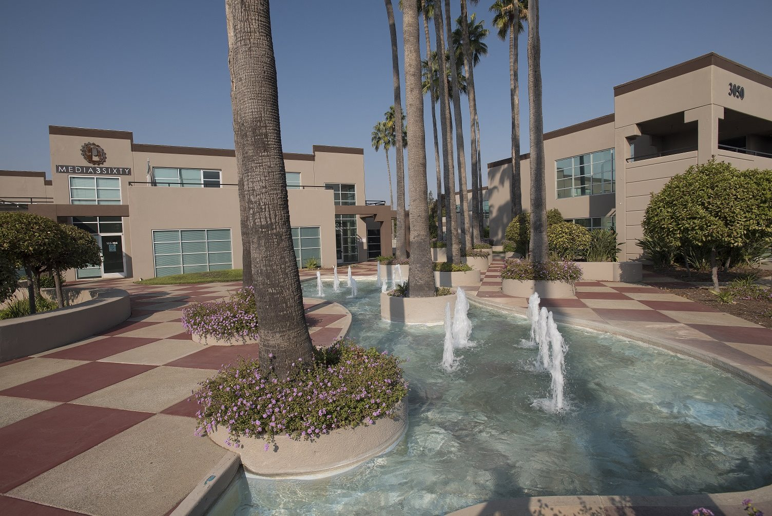 Sierra Business Center Entry Fountains