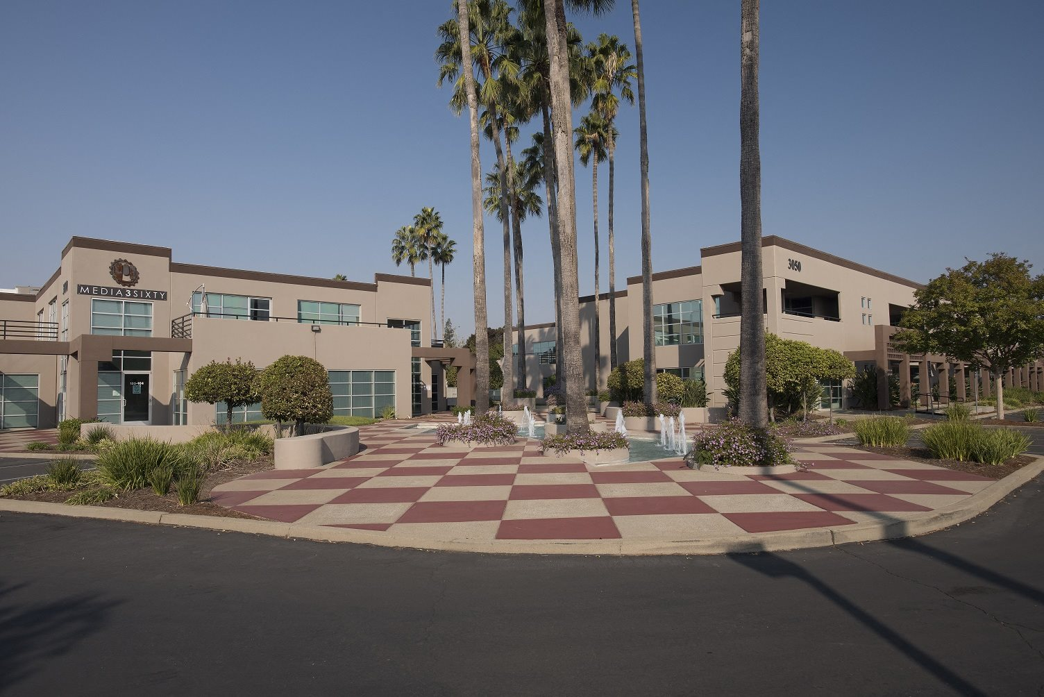 Sierra Business Center Entry Parking Lot