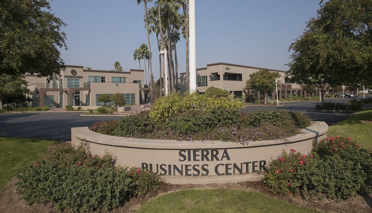 Sierra Business Center Monument Sign