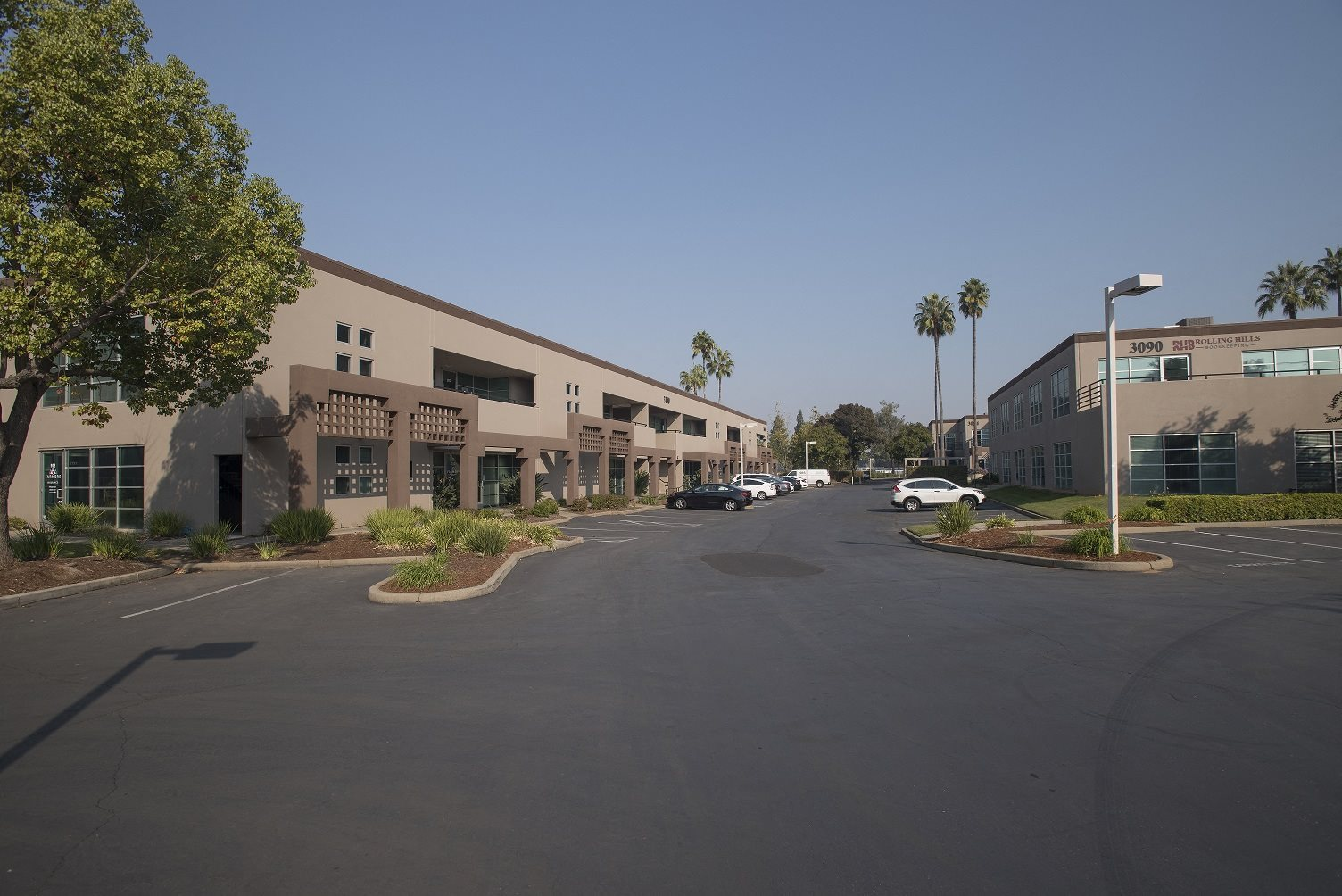 Sierra Business Center Parking Lot