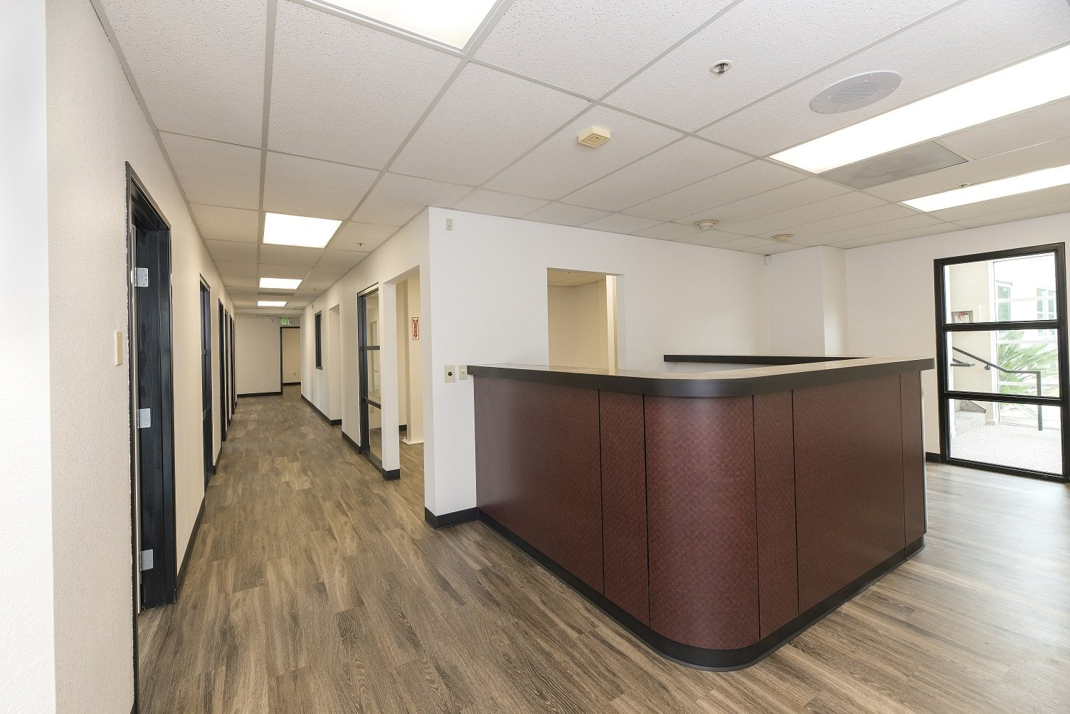 Sierra Business Center Reception Desk