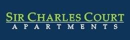 Sir Charles Court Apartments Logo