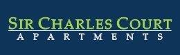 Sir Charles Court Apartments Logo