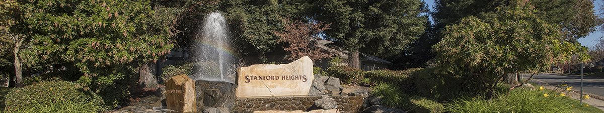 Stanford Heights Monument Fountain