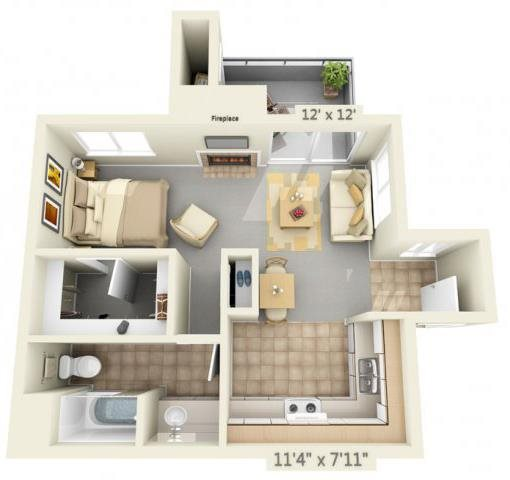 AutumnOaksApartments_Roseville_CA_EmoryFloorplan