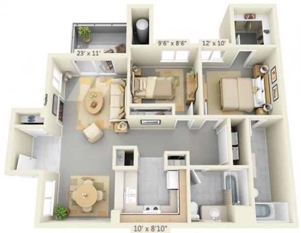 AutumnOaksApartments_Roseville_CA_SilverleafIIFloorplan