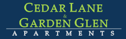 Cedar Lane and Garden Glen Apartments Property Logo