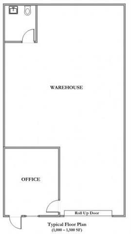 1250 Sq.Ft. Floor Plan 2