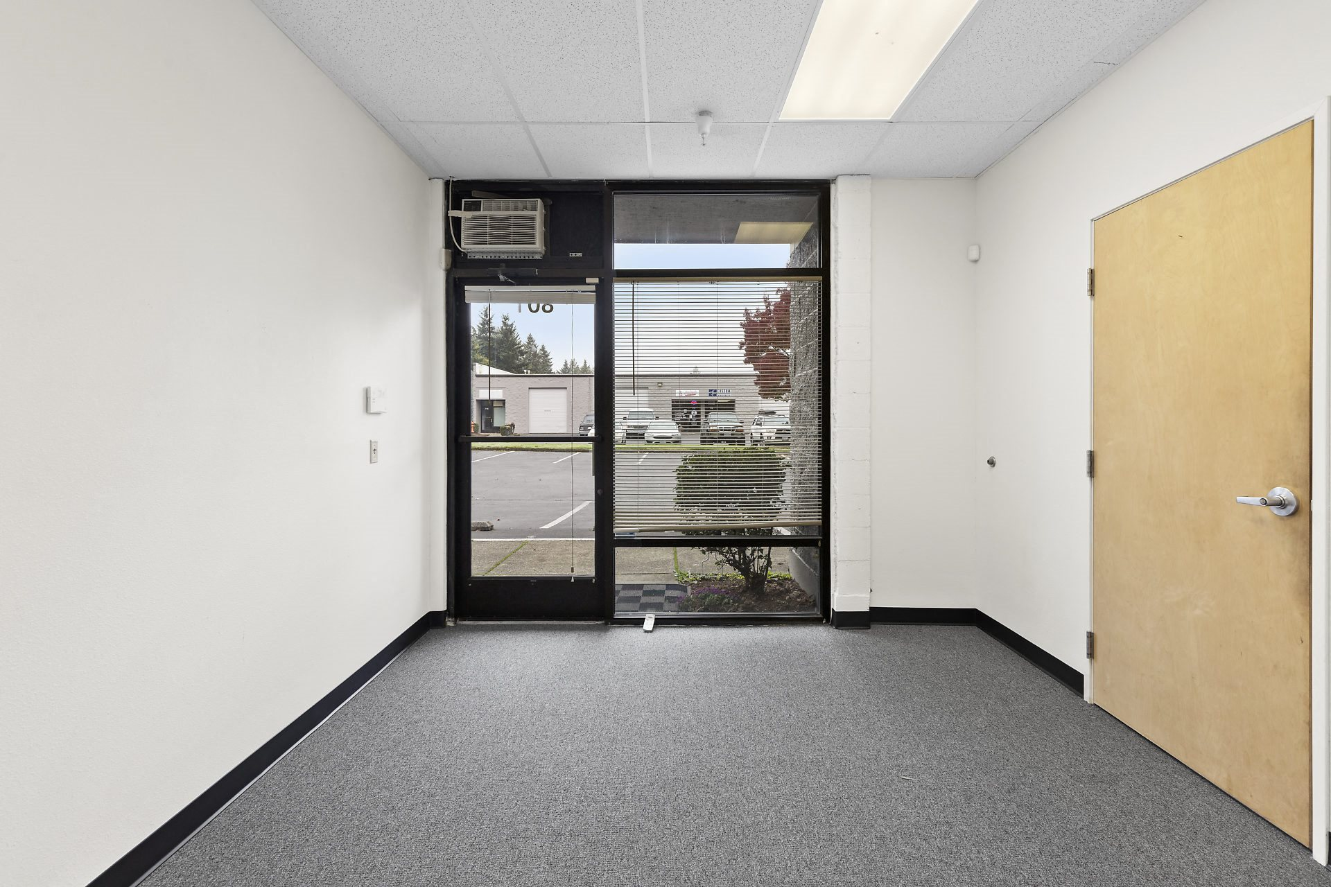 Red Soils Business Park Interior Office Space Front Entry