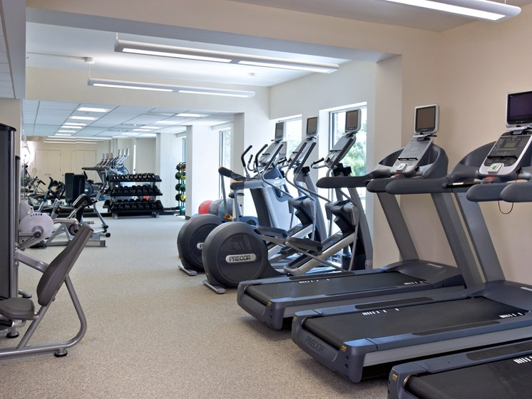 Cardio Studio Equipment at 34 Berry, Brooklyn, NY, 11249