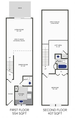 1 Bedroom Duplex (B4)
