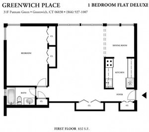 1 Bedroom Deluxe - With or Without Balcony (B3)