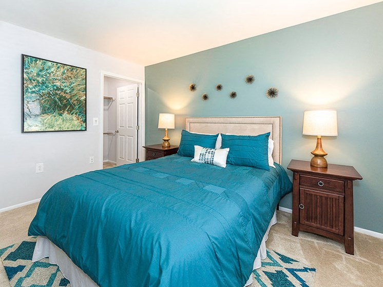 Large Comfortable Bedrooms With Closet, at Heather Ridge Apartments, Bowie
