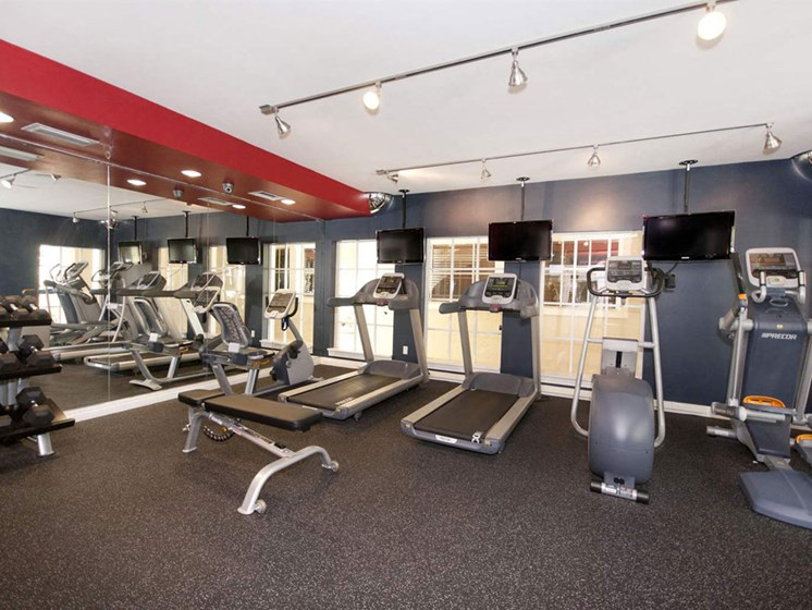 Fully Equipped Fitness Center at Lincoln Pointe, Florida, 33160