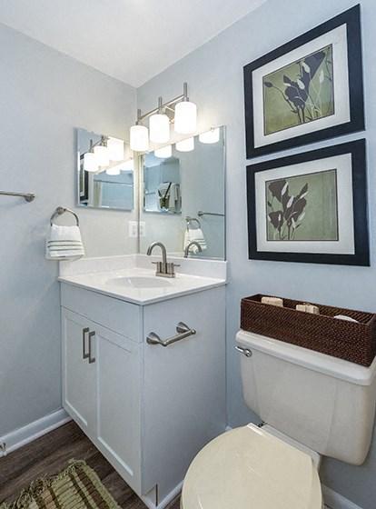 Updated Bathrooms at Ravens Crest Apartments, Manassas, VA, 20109