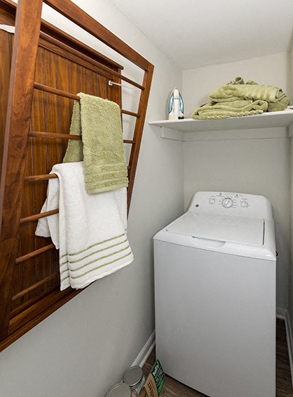 Washer & Dryer In Every Apartment at Ravens Crest Apartments, Manassas, VA