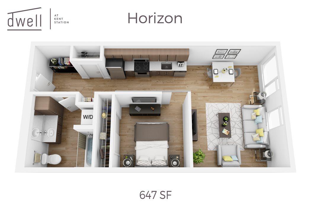 Horizon One Bedroom One Bath