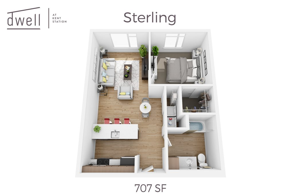 Sterling One Bedroom One Bath