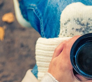 Cozy up to brisk mornings with a warm cup of coffee