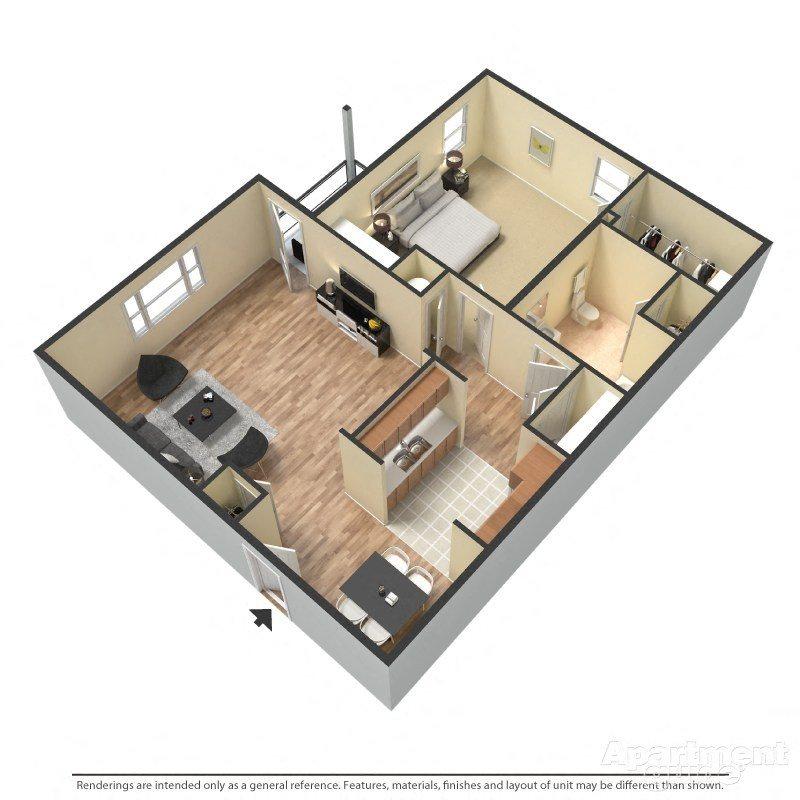 Beaumont Floor Plan 1