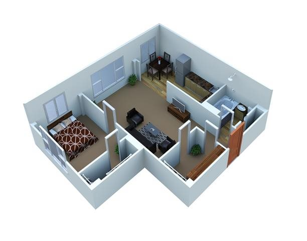 Verona Floor Plan 1
