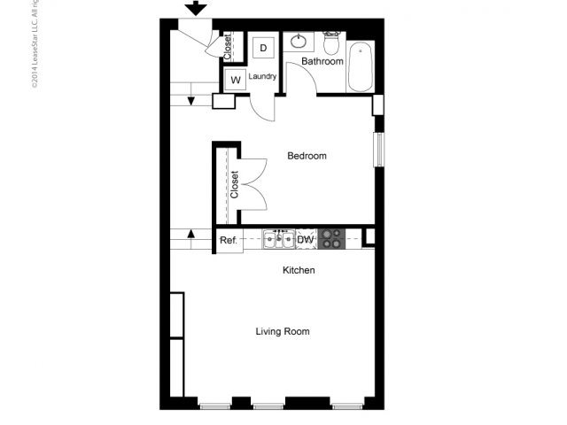 Historic Town Flats Floor Plan